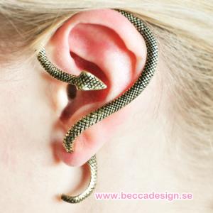 Orm ear wrap örhänge bild