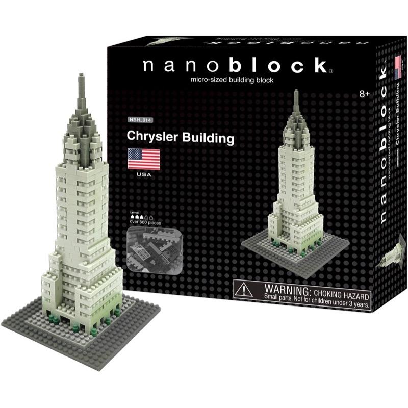 Nanoblock Chrysler Building bild