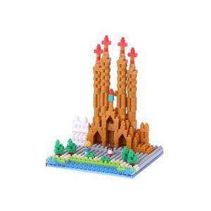 Nanoblock Sagrada Familia bild