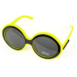 Neon yellow solglasögon bild