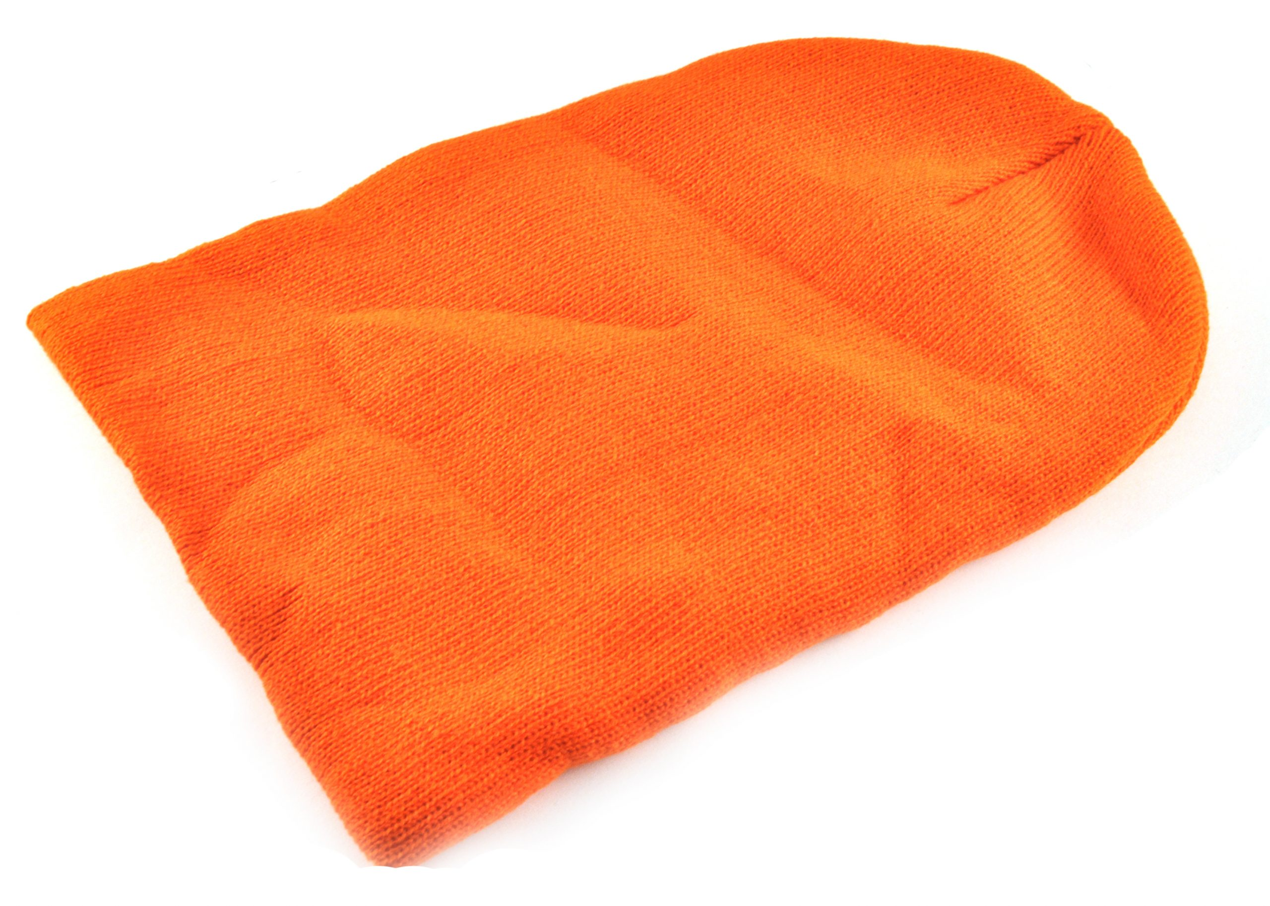 Mössa beanie orange bild