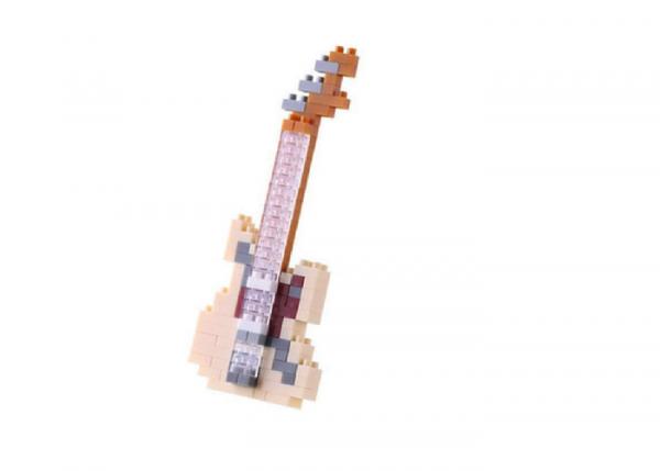 Nanoblock Elgitarr elfenben bild