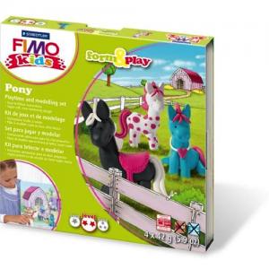 FIMO - Gör din egen pony bild