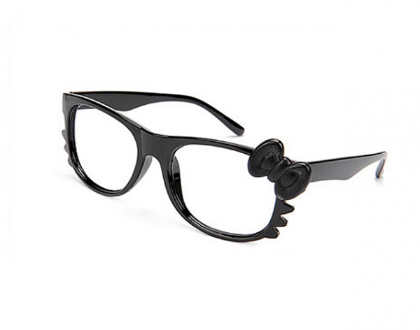Hello Kitty glasögon - svarta bild