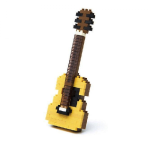 Nanoblock Akustisk Gitarr bild