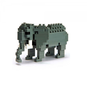 Nanoblock Elefant bild