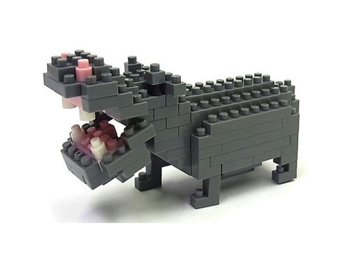 Nanoblock Flodhäst bild