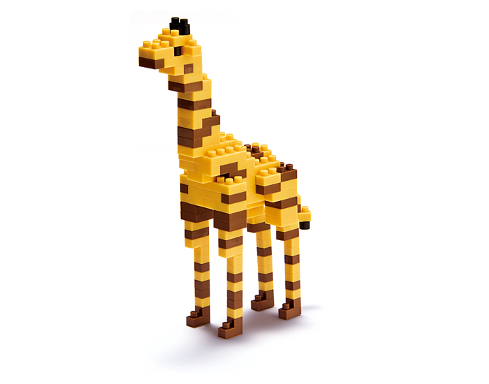 Nanoblock Giraff bild