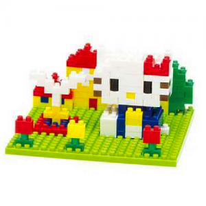 Nanoblock Hello Kitty i parken bild