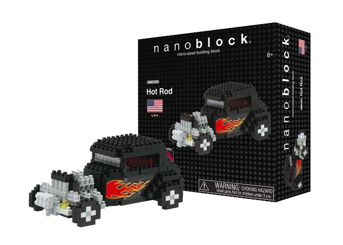 Nanoblock Hot Rod bild