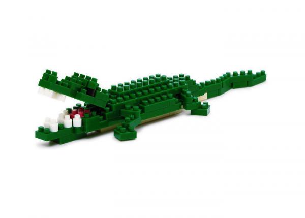 Nanoblock Krokodil bild