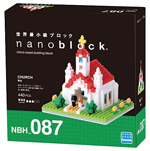 Nanoblock Kyrka bild