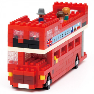 Nanoblock Londonbuss (London Tour Bus) bild