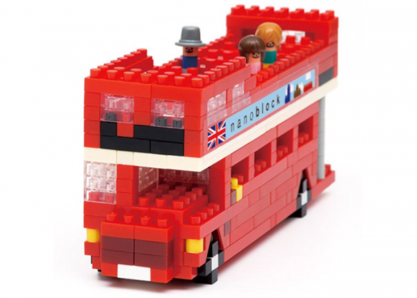 Nanoblock Londonbuss (London Tour Bus) bild