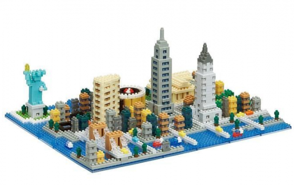 Nanoblock New York bild