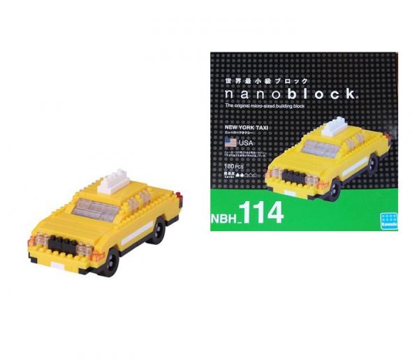 Nanoblock New York taxi bild