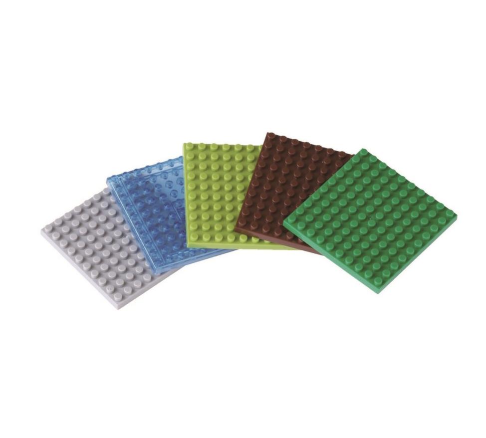 Nanoblock 5 st plattor (10x10) bild