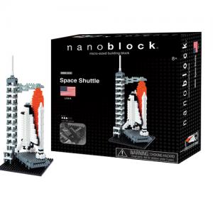 Nanoblock Rymdfärja bild