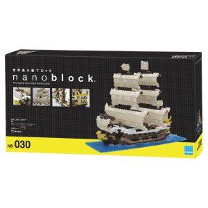 Nanoblock Segelfartyg bild