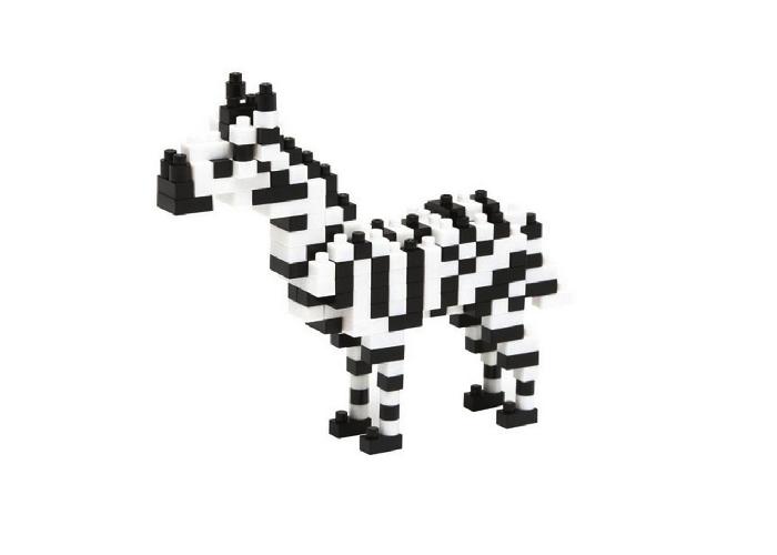 Nanoblock Zebra bild
