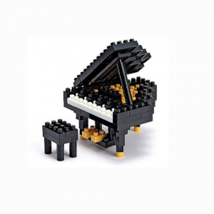 Nanoblock Flygel (Grand Piano) bild
