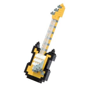 Nanoblock Elgitarr gul bild