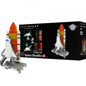 Nanoblock Space Shuttle - Deluxe Edition bild