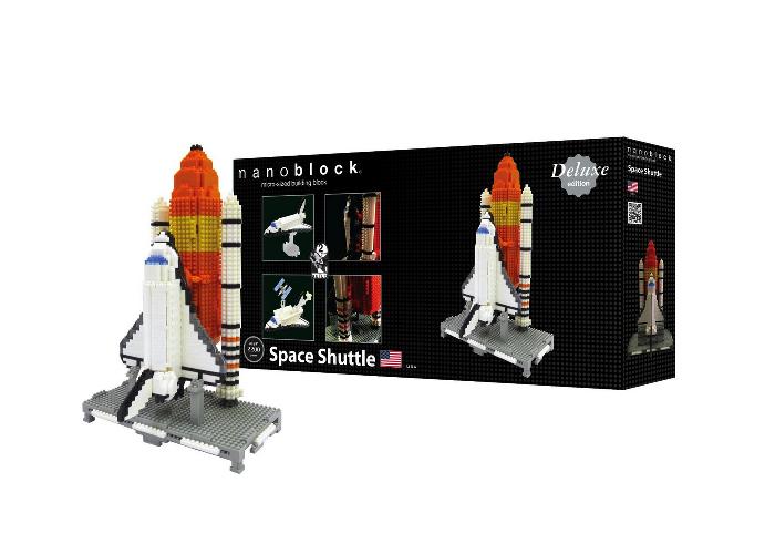 Nanoblock Space Shuttle - Deluxe Edition bild