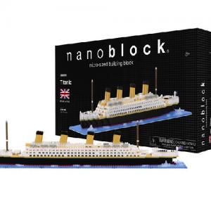 Nanoblock Titanic bild