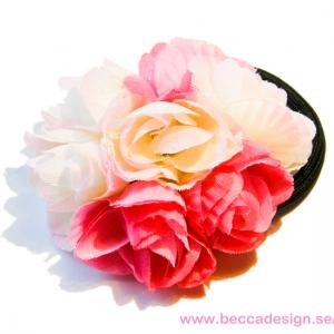 Rosa hårblomma bild