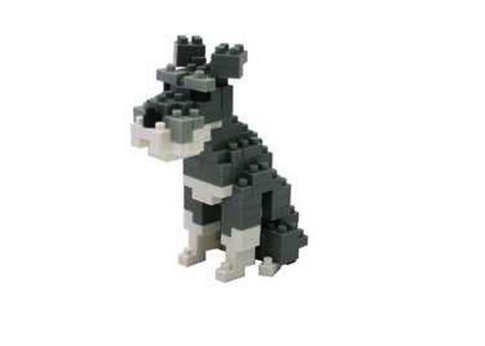 Nanoblock Hund - Schnauzer bild