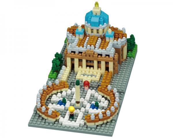 Nanoblock Vatikanstaten bild