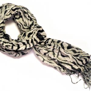 Zebrarandig sjal bild